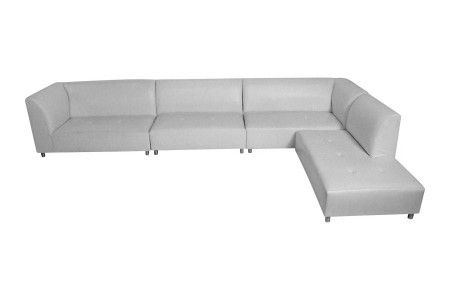 Avery-4-piece-Sectional-Sofa-Right White