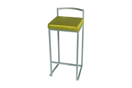 Add a splash of color with the Monroe Elegance Barstool in Chartreuse