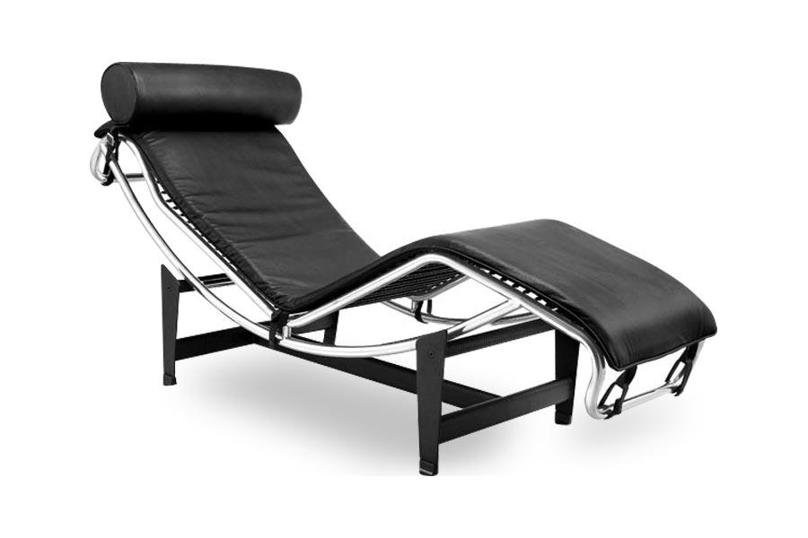 Le Corbusier Lounge Chair (Black)