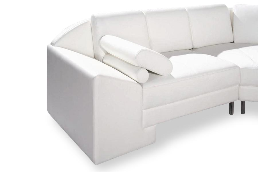 Monaco Sectional Sofa White Lux Lounge Efr 888 247 4411