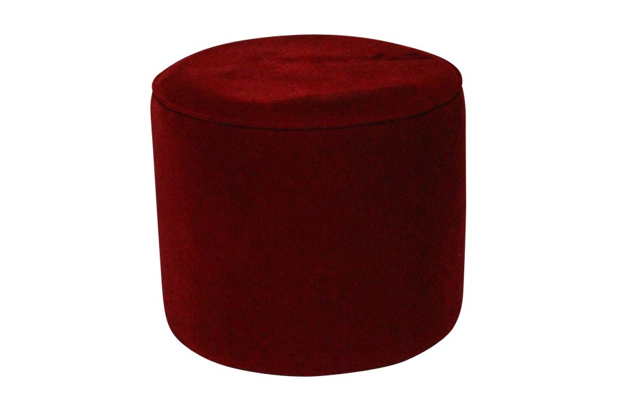 Brilliant 18 Red Round Ottoman Lux Lounge Efr 888 247 4411 Ncnpc Chair Design For Home Ncnpcorg