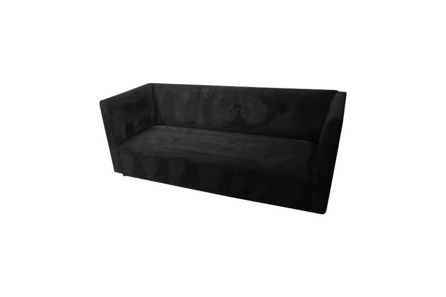 avery classic sofa ultrasuede black lux lounge efr
