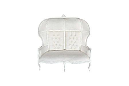 Queen Elizabeth II Throne White