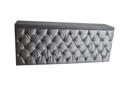 Tiffany Tufted Straight Bar 6'