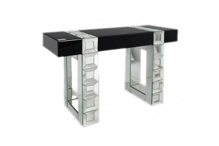Perry Mirrored Console Table