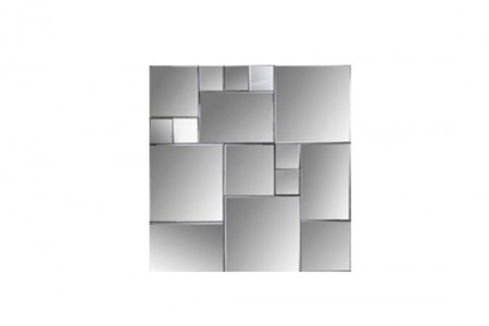 Cubist Square Wall Mirror