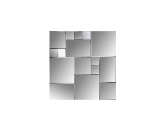 Cubist Square Wall Mirror Lux Lounge Efr 888 247 4411