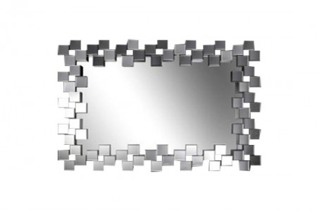 Pixel Rectangle Wall Mirror