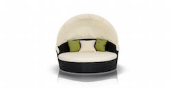Belize Round Outdoor Daybed