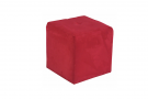 Avery Cube Seat Ultra-Suede (Red)