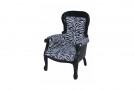 Princess Diana Zebra Chair