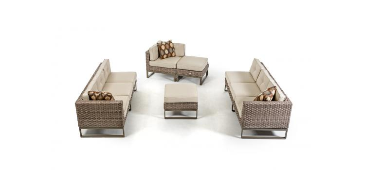 Newport Sectional Set Lux Lounge Efr 888 247 4411