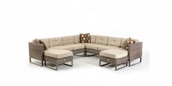 Newport Outdoor Sectional Sofa Set