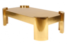 24 KARAT DECO COFFEE TABLE