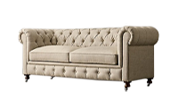 NAPA TUFTED LOVERS SOFA