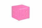 PINK CUBE OTTOMAN 2