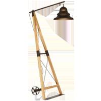 TELEGRAPH FLOOR LAMP
