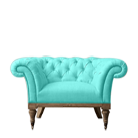 TIFFANI TUFTED ARM CHAIR