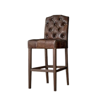 WHISKEY HIGH BACK BARSTOOL