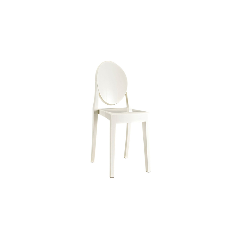 ... Ghost Armless Chair White ...