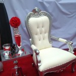 Princess Diana Chair Silver