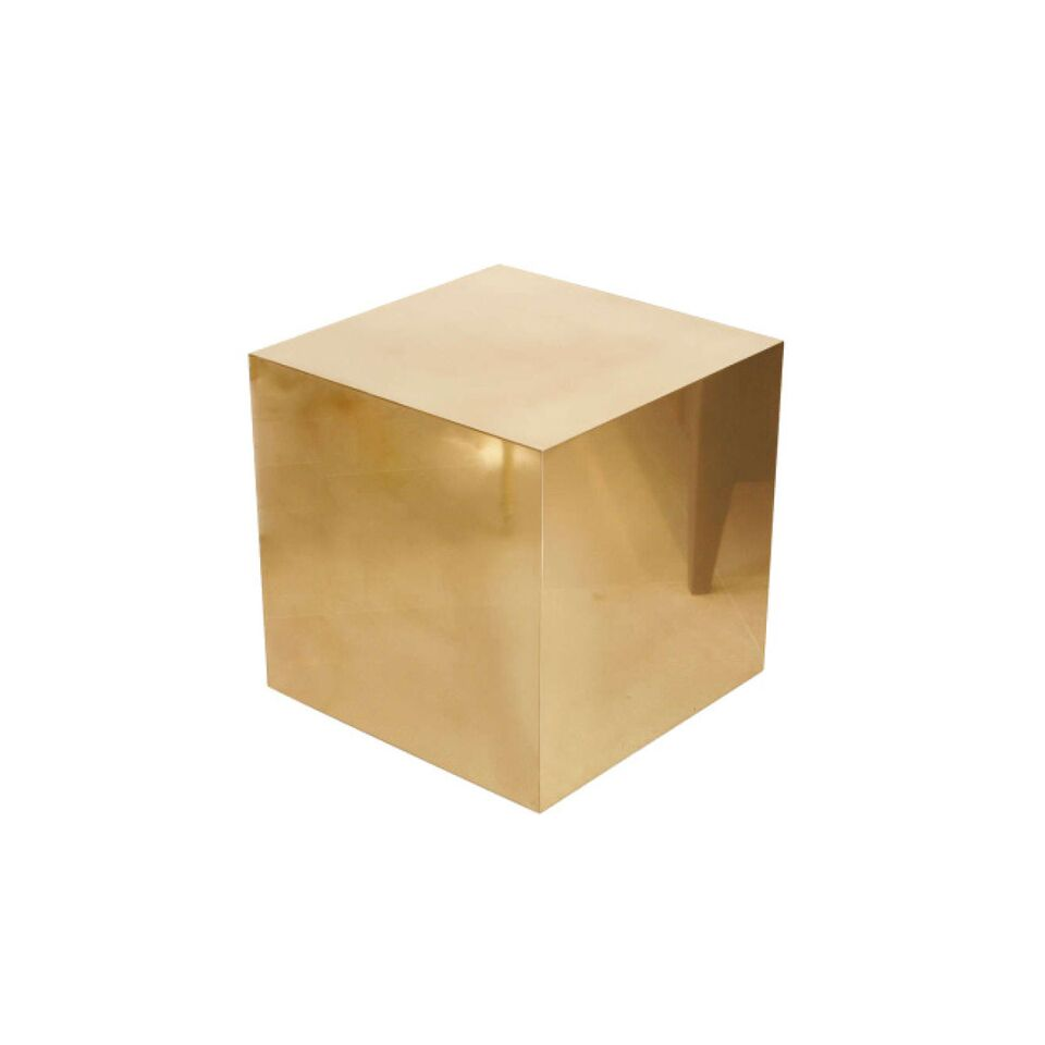Mirror Gold Cube Lux Lounge Efr 888 247 4411