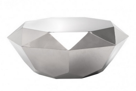 preciouse coffe table stainless steel