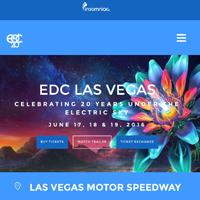 EDC Las Vegas, June 2016