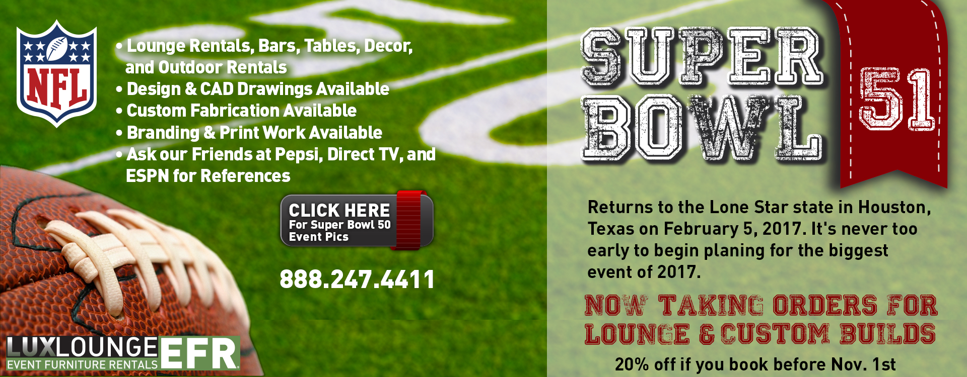 Houston Sporting Event Rentals