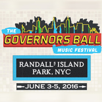 The Governors ball music festival, New York June 2016