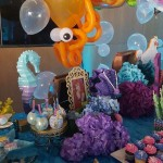 Little mermaid under the sea party Lux Lounge (6)