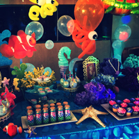 Little Mermaid Under the Sea Themed Event, June 2016