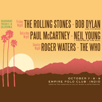 Desert Trip Music Festival October 2016, Indio CA