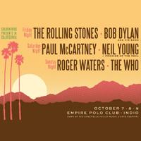 Desert Trip Music Festival October 2016, Indio CA