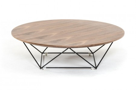 Wooden Spoke Coffee Table1