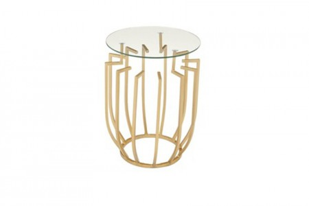 Dazzle Gold Side Table