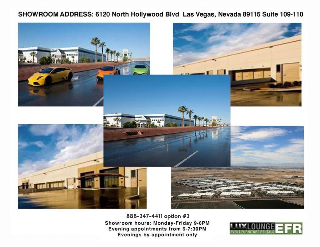 Las Vegas Office Event Branding Trade Show Furniture Rentals Lux Lounge Efr 888 247 4411
