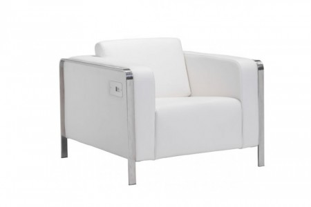 Electro-Charging-Chair-White