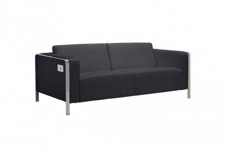 Electro-Charging-Sofa-Black