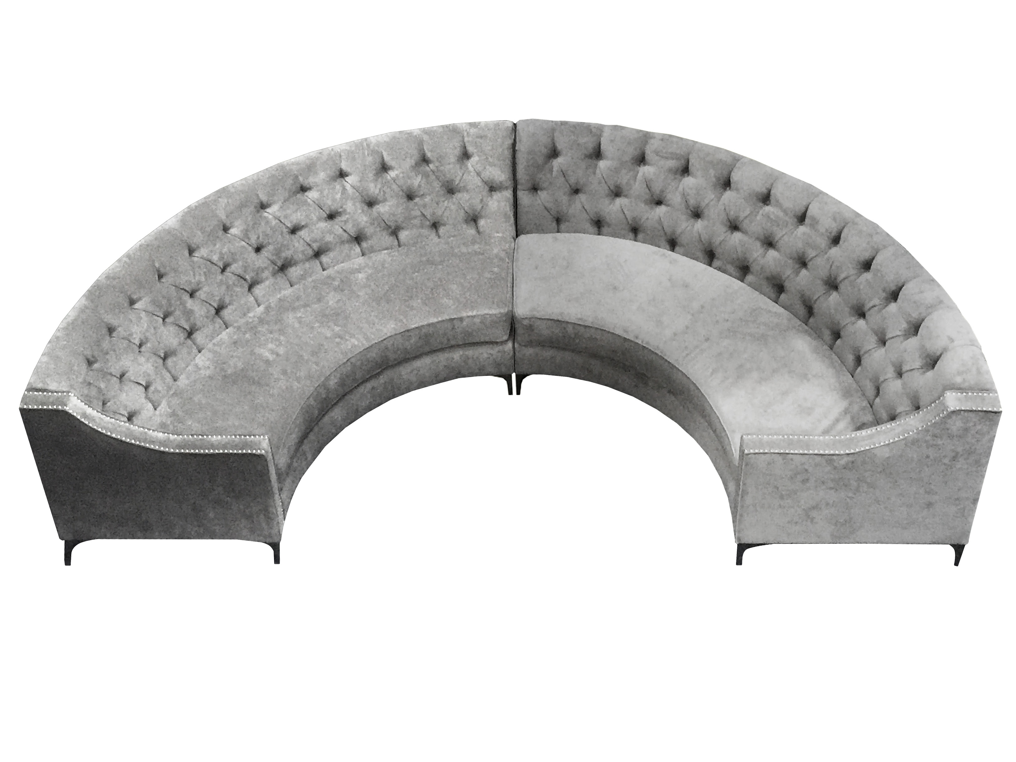 chastine curved banquette sofa  u2022 lux lounge efr  888  247