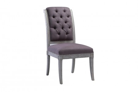 Clark Dining Chair Aubergine
