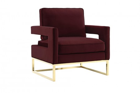 Gable Chair Maroon