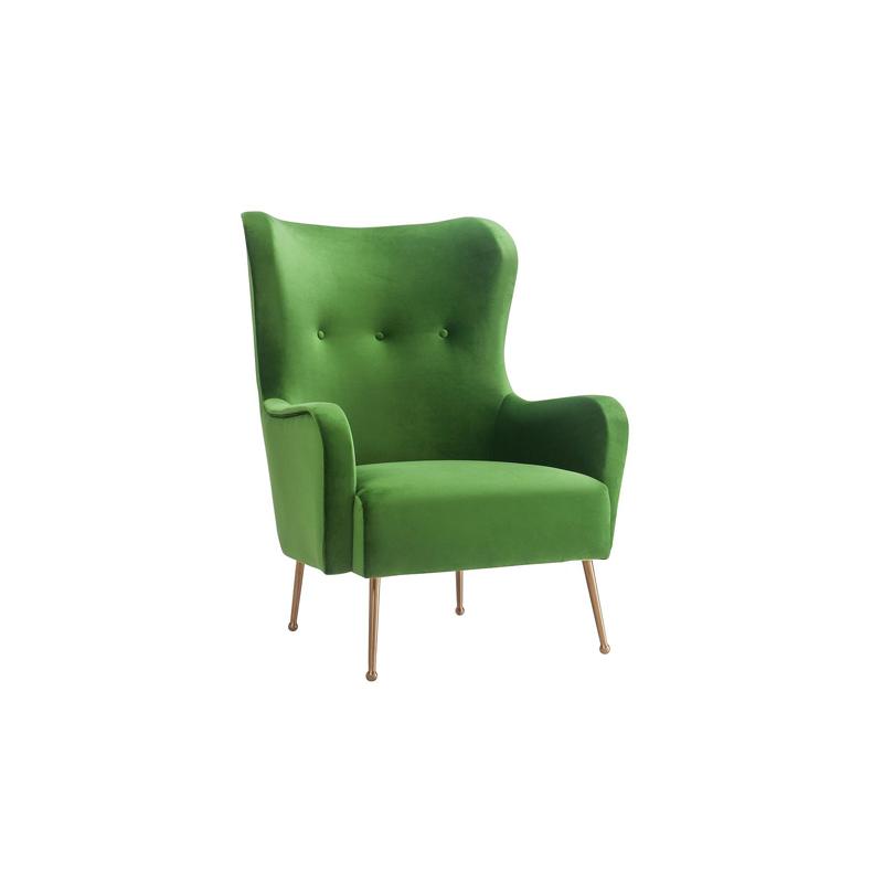 Garland Green Velvet Chair Lux Lounge Efr 888 247 4411