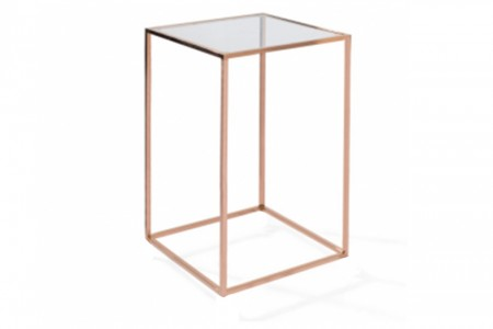 Metro High Table Rose Gold