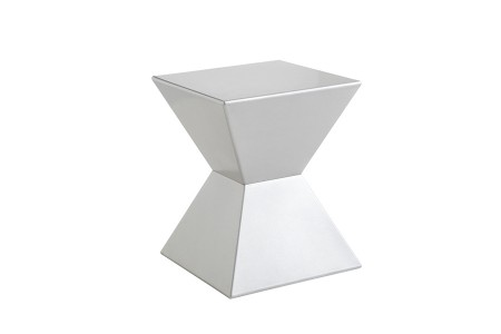 Margin side table Silver