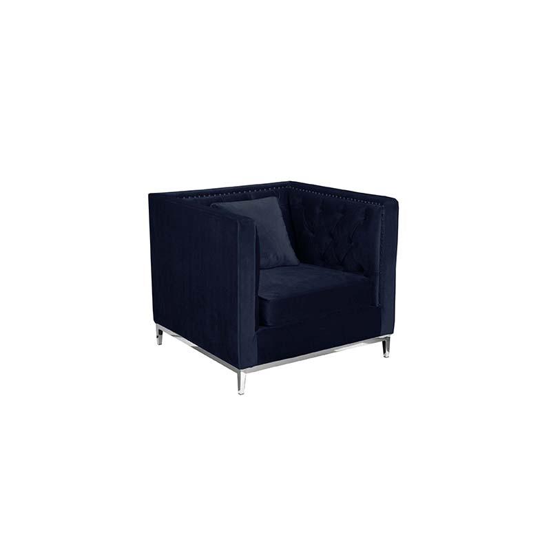 Marlene Chair Navy Lux Lounge Efr 888 247 4411