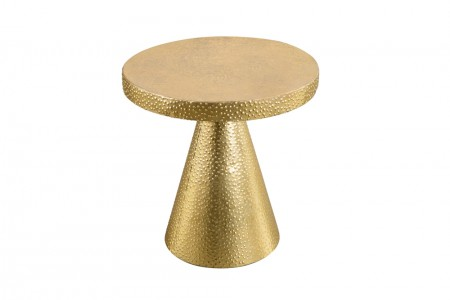 Patra Side Table Gold