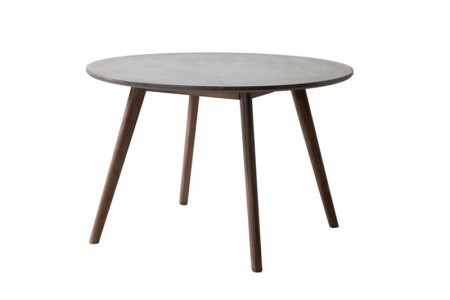 Cemento Round Dining Table