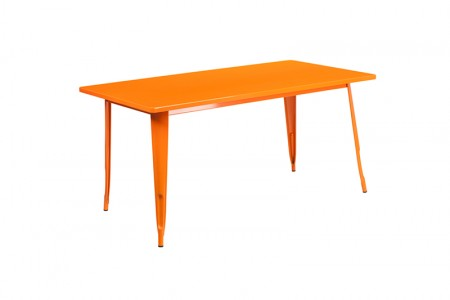 Farmers Dining Table Orange