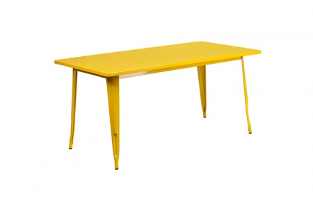 Yellow Farmers dining table